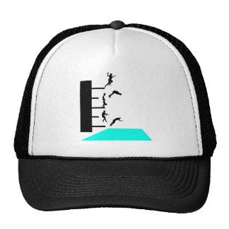 jump into pool trucker hat