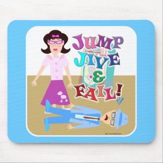 Jump Jive and Fail! Mouse Pad