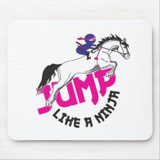 Jump like a ninja 2.pdf mouse pad