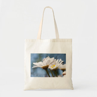Jump more fever - A sea OF of daisies against A bl Tote Bag