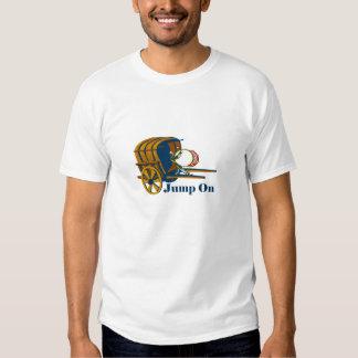 Jump on the bandwagon tee shirt