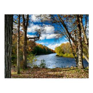 Jump River, Wisconsin Postcard