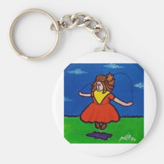 Jump Rope 2 by Piliero Keychain