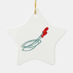Jump Rope Ceramic Ornament