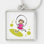 Jump Rope Keychains