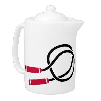 Jump rope teapot