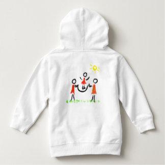 Jump rope toddler hoodie