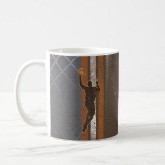 Jump Shot Boy Man Basketball Mug