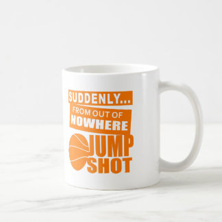 Jump Shot From Nowhere Coffee Mug