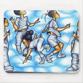JUMP SO HIGH I COULD TOUCH THE SKY MOUSE PAD