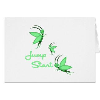Jump Start Greeting Cards