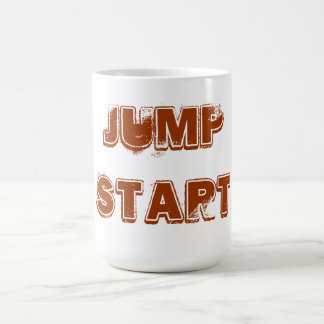 JUMP START COFFEE CUP