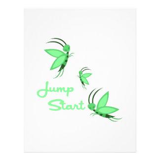 Jump Start Letterhead Design