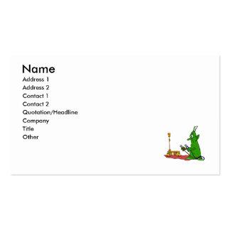 Jump Start Mars Rover Business Card
