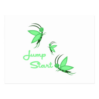 Jump Start Postcard