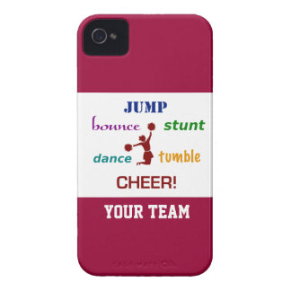 Jump Stunt Bounce Cheerleader iPhone 4/4S Case iPhone 4 Covers
