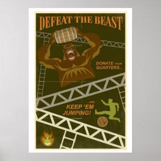 Jump Them Barrels Poster at Zazzle