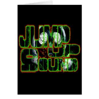 Jump up Sound DUBSTEP FILTH ELECTRO Dub Bass DJ Card