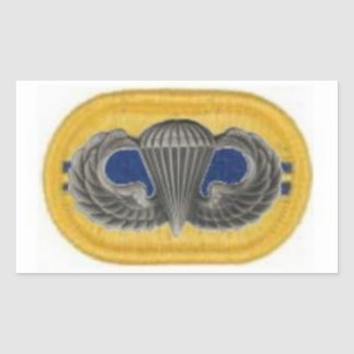 Jump Wings on 2/504th Oval Stickers