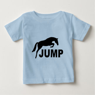 JUMP with Jumping Horse Baby T-Shirt
