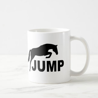 JUMP with Jumping Horse Coffee Mug