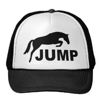 JUMP with Jumping Horse Mesh Hat