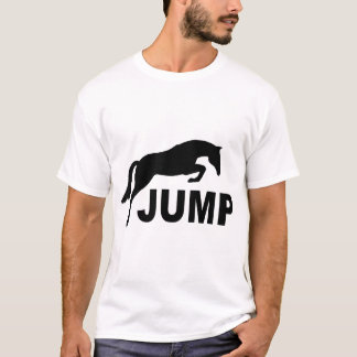 JUMP with Jumping Horse T-Shirt