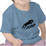 JUMP with Jumping Horse T Shirt