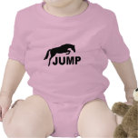JUMP with Jumping Horse T Shirts