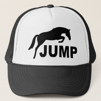 JUMP with Jumping Horse Trucker Hat