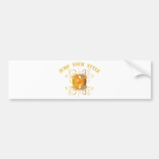 jump your styles car bumper sticker