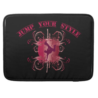 Jump your styles - talk sleeve for MacBook pro