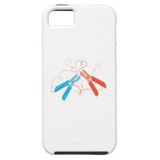 Jumper_Cables_Base iPhone 5 Case-Mate Coberturas