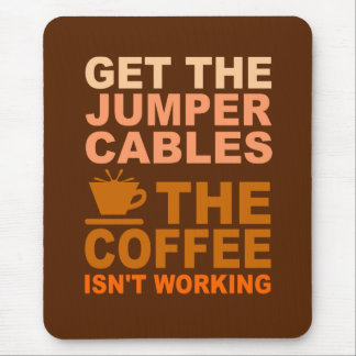 Jumper Cables mousepad