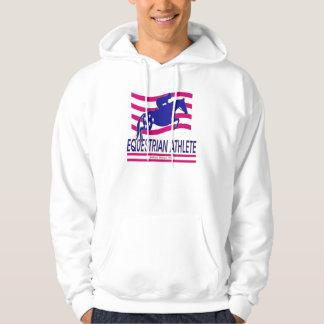 Jumper Equestrian Athlete Hooded Sweatshirt