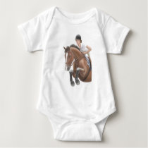 Jumper Horse Infant  Creeper