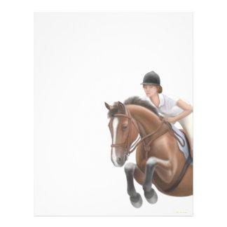 Jumper Horse Letterhead