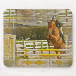 Jumper Horse Show Mouse Pad