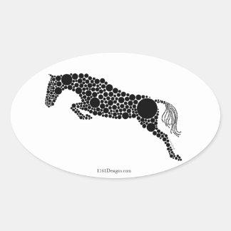 Jumper Silhouette Stickers