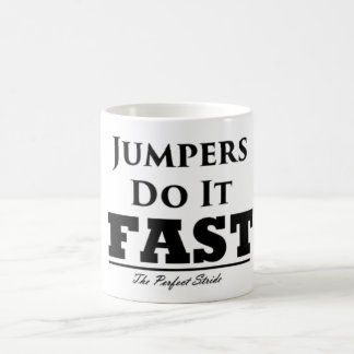 Jumpers Do It Fast Mug