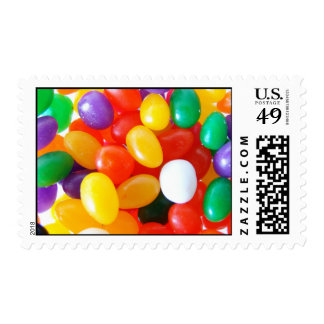 Jumpin Jelly Beans Postage Stamp