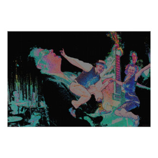 Jumpin Jive el poster de Jitterbug 36 x 24