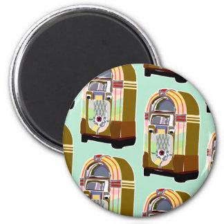 Jumpin Jukebox Pattern Magnet