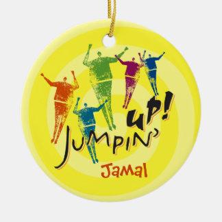¡Jumpin para arriba Ornamento Ornato