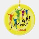 Jumpin' Up! Ornament