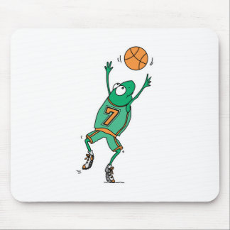 jumping basketball frog mouse pads