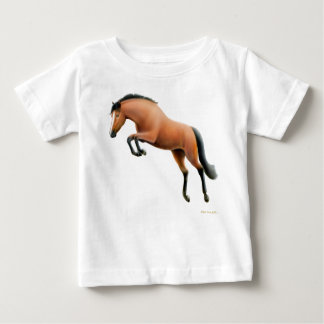 Jumping Bay Horse Infant T-Shirt