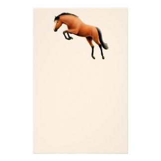 Jumping Bay Horse Stationery