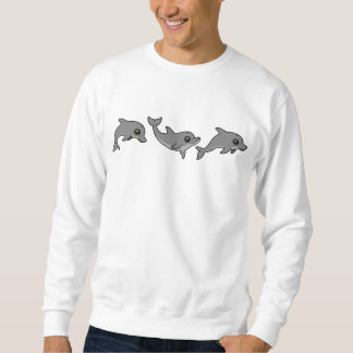 Jumping Bottlenose Dolphin Sweatshirt