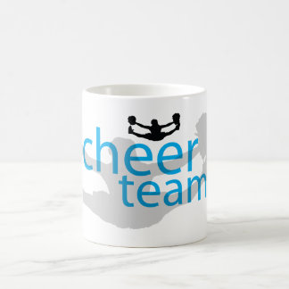 Jumping Cheerleader Team Gear Coffee Mugs